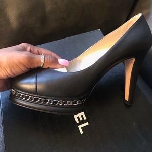 100% Authentic Chanel Black pumps